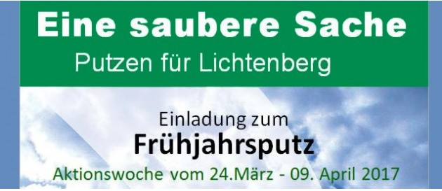 2017 04 01 Putztag karlshorst