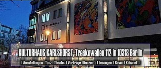 Karlshorst Kulturhaus abend