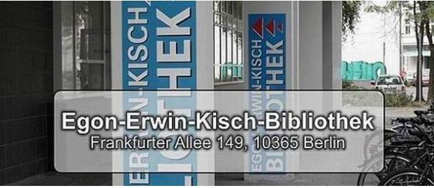 Lichtenberg Bib Egon Erwin Kisch Bibliothek