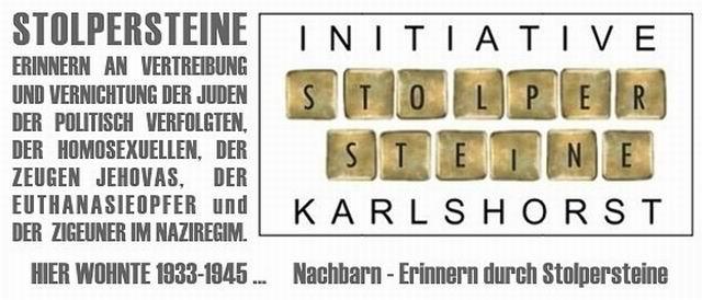 Initiative Stolpersteine Karlshorst