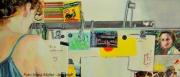 Bis 30.06. - Vernissage: RECURSIV Zeichnungen und Malerei