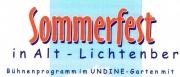 05.07. - Sommerfest im UNDINE-Garten